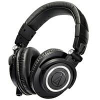 หูฟังครอบหู Audio Technica รุ่น M50x BK