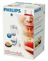 เครื่องปั่นน้ำผลไม้ ยี่ห้อ Philips รุ่น HR2115 ขนาด 2 ลิตร Package