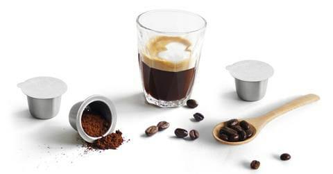 เครื่องชงกาแฟแบบแคปซูลและเครื่องชงกาแฟเอสเพรสโซ