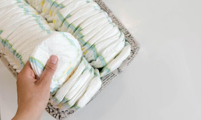 คุณจำเป็นต้องกักตุนผ้าอ้อมไว้จำนวนมากแค่ไหนกัน
