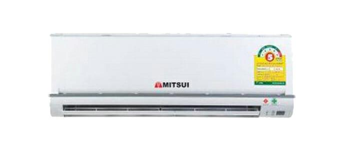 MITSUI เครื่องปรับอากาศ แบบติดผนัง รุ่นประหยัดไฟเบอร์ 5 ขนาด 9,040.44 btu./hr. - สีขาว