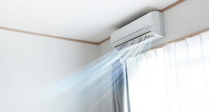 กระบวนการที่ทำให้บ้านของคุณเย็นขึ้นจากเครื่องปรับอากาศ