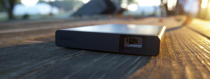 Sony Laser Mobile Projector น MP-CL1A โปรเจคเตอร์