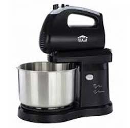 House Worth เครื่องผสมอาหารแบบมือถือและตั้งโต๊ะ เครื่องตีแป้งสแตนเลส HW-FM04
