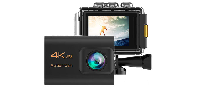 Nanotech 4K Action Camera