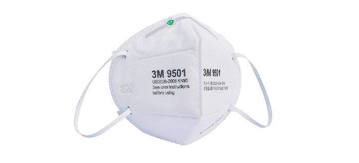 3M 9501 N95 Face Mask