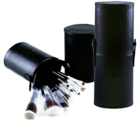 Mei Linda Brush Set แปรงชุด 12 ชิ้น กระบอกหนัง สีดำ