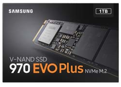 Samsung 1TB 970 EVO Plus M.2 NVMe SSD