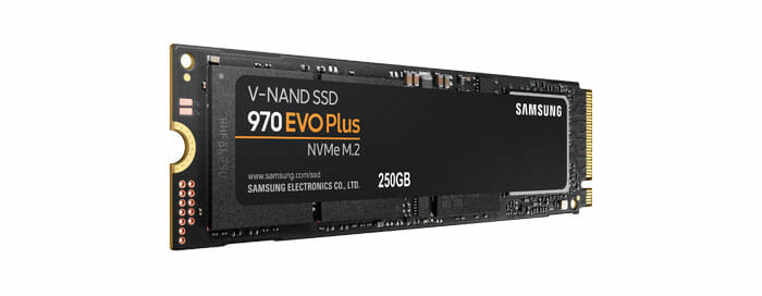 SAMSUNG 970 EVO Plus 250GB M.2 NVMe PCI-E 3.0 x4 SSD