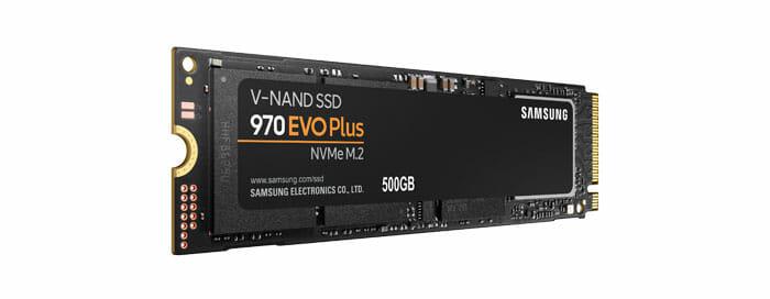 Samsung 500GB 970 EVO Plus M.2 NVMe SSD
