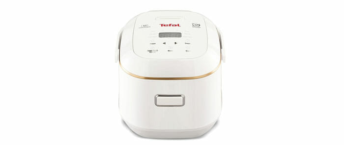 Tefal หม้อหุงข้าวไฟฟ้าระบบดิจิตอล 0.7 ลิตร รุ่น RK6011TH