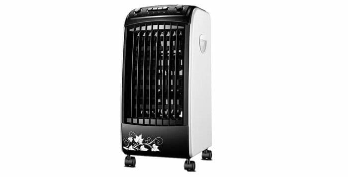 XPX พัดลมไอเย็น เครื่องปรับอากาศ เคลื่อนปรับอากาศเคลื่อนที่ เครื่องปรับอากาศสีดำ Cooler Conditioner JD43