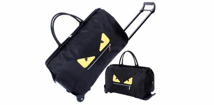 MJM กระเป๋าเดินทางแบบพับเก็บได้ น้ำหนักเบา