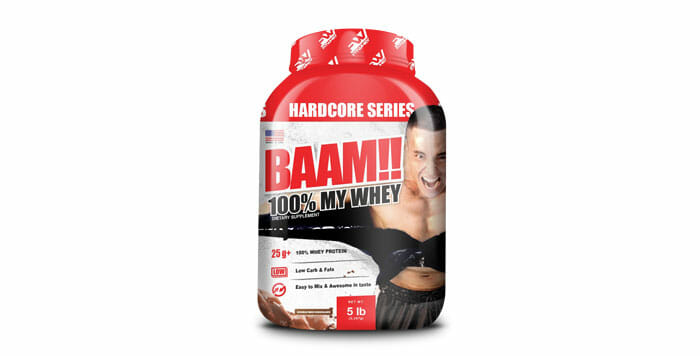 BAAM 100% MY WHEY 5lb Chocolate