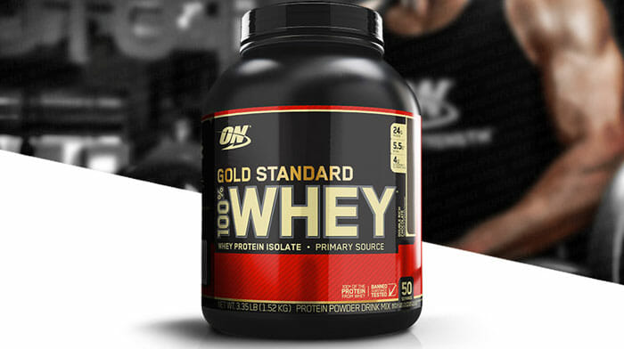 Optimum Nutrition Gold Standard Whey Protein 2.4 lbs - Double Rich Chocolate