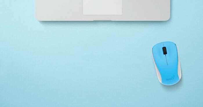GENIUS เม้าส์ไร้สาย Wireless Mouse BlueEye NX-7000