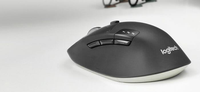 Logitech Wireless&Bluetooth Mouse M720 Triathlon