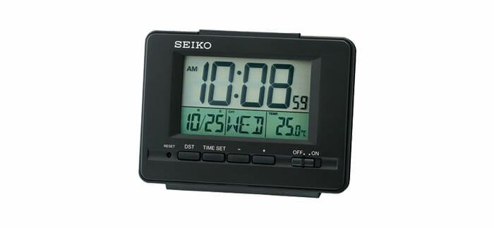 นาฬิกาปลุกดิจิตอล Seiko Digital Clock รุ่น QHL078K