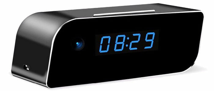 นาฬิกาปลูก พร้อมกล้องจิ๋ว ควบคุมผ่านสมาร์ทโฟน