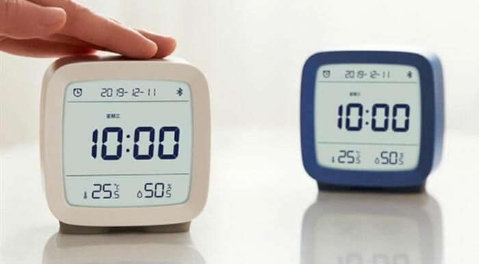 Xiaomi Qingping BT นาฬิกาปลุกบอกอุณหภูมิ